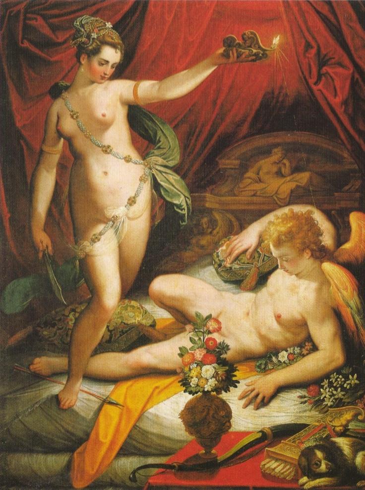 Psché découvre Eros