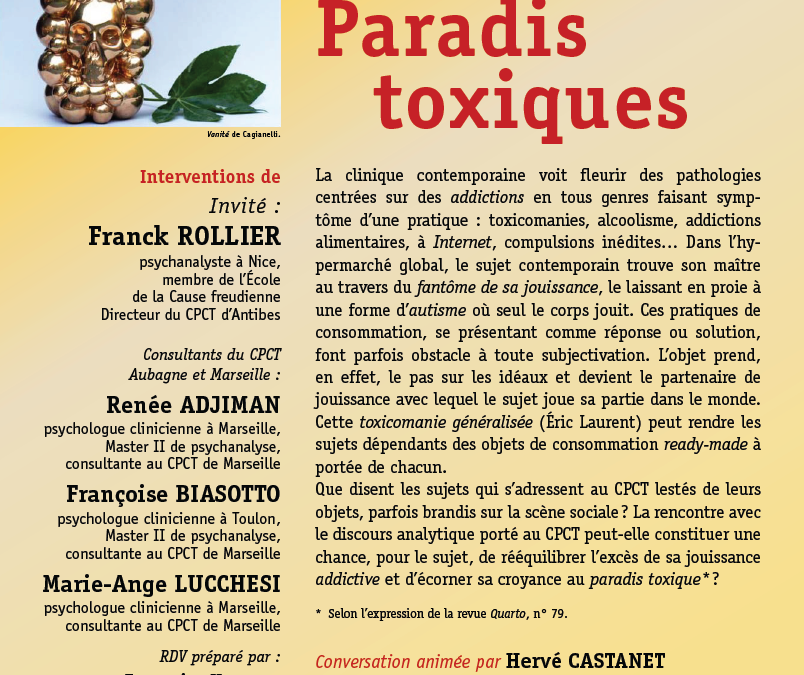 Les addictions au CPCT-Marseille